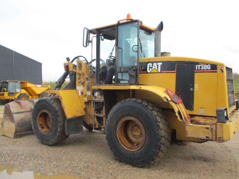 CAT IT38G Hjullæsser med skovl / CAT Wheel loader with bucket - 0