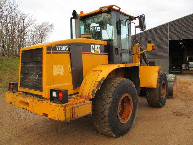 CAT IT38G Hjullæsser med skovl / CAT Wheel loader with bucket - 9