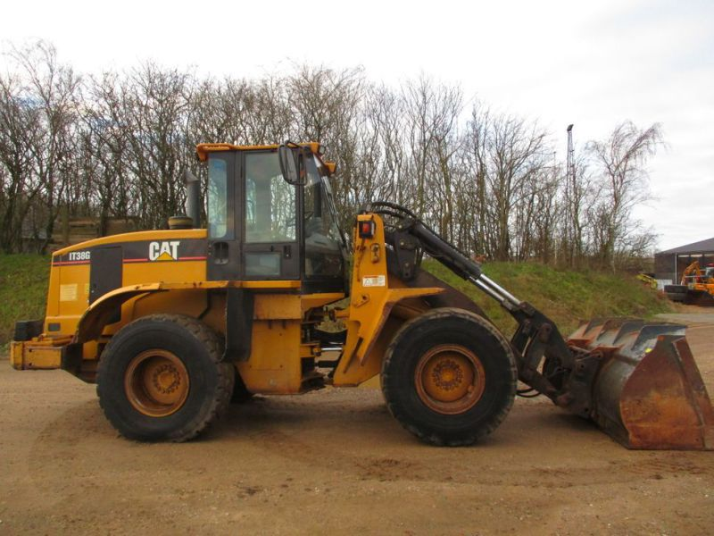 CAT IT38G Hjullæsser med skovl / CAT Wheel loader with bucket - 10