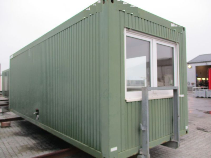 Kontormodul med 2 rum & toilet / Office module with 2 rooms & toilet - 0