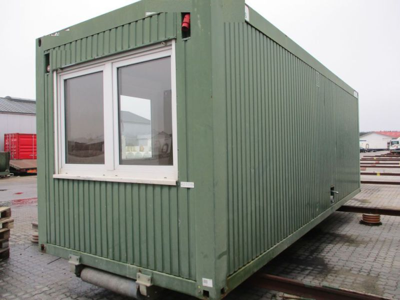 Kontormodul med 2 rum & toilet / Office module with 2 rooms & toilet - 1