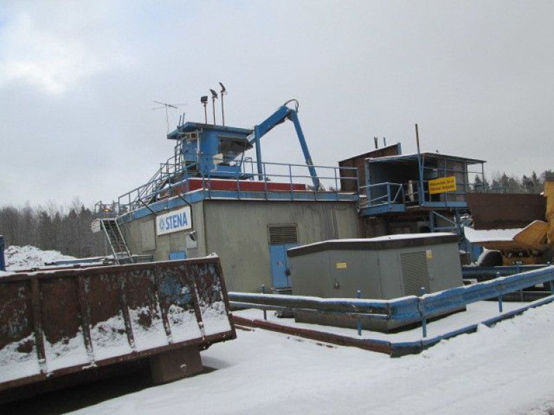 Skrotsax med kran/Scrap shear with crane - 87