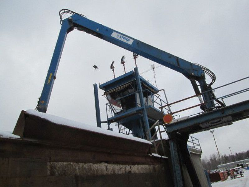 Skrotsax med kran/Scrap shear with crane - 91