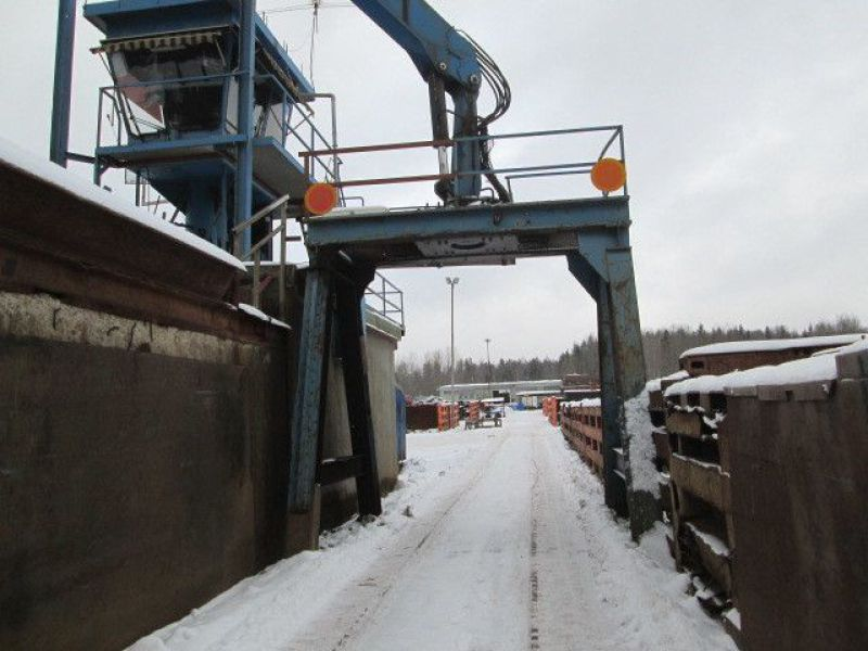 Skrotsax med kran/Scrap shear with crane - 93