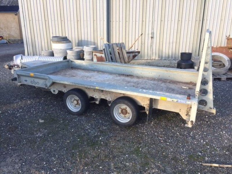 Saga maskin trailer / machine trailer - 0