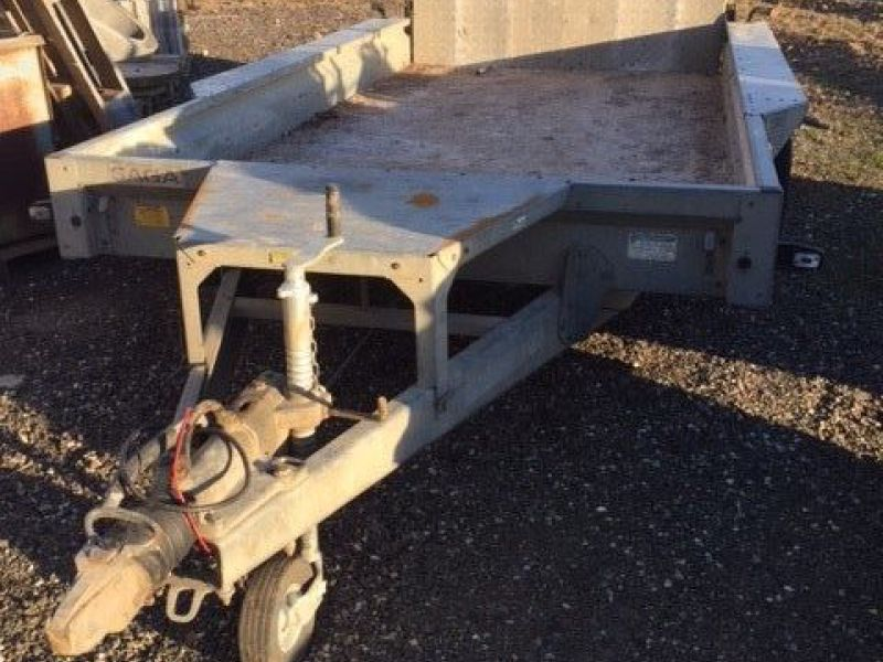 Saga maskin trailer / machine trailer - 5
