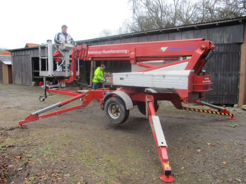Omme trailerlift 16,5 meter - 0