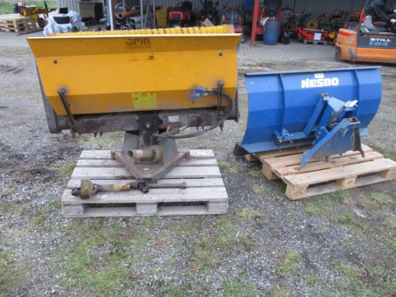 Sneplov Nesbo RS 1500, Kost GMR 130 cm / Snow plow and sweeper - 1