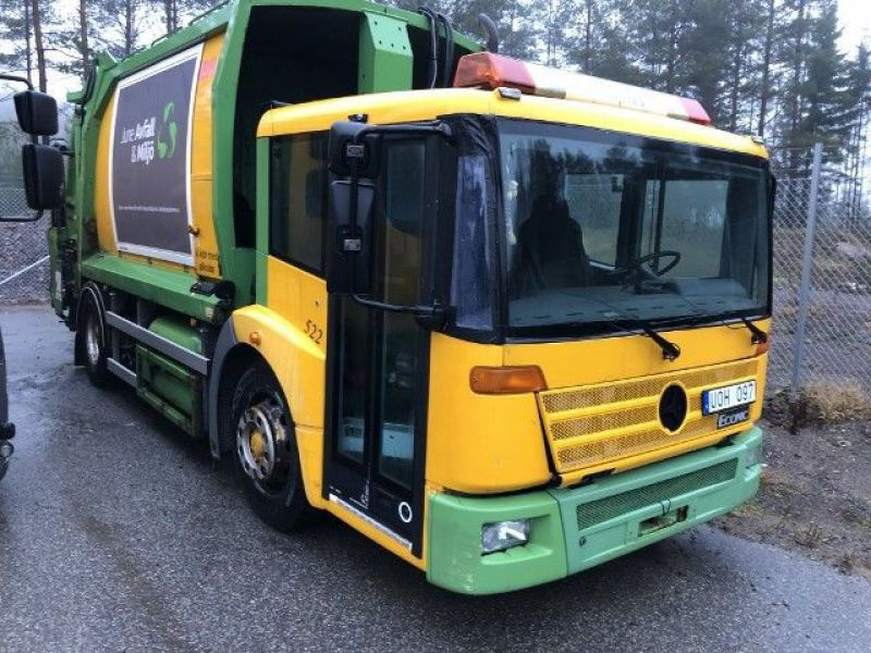 Mercedes- Benz1828GLL Sopbil/Garbage truck - 0