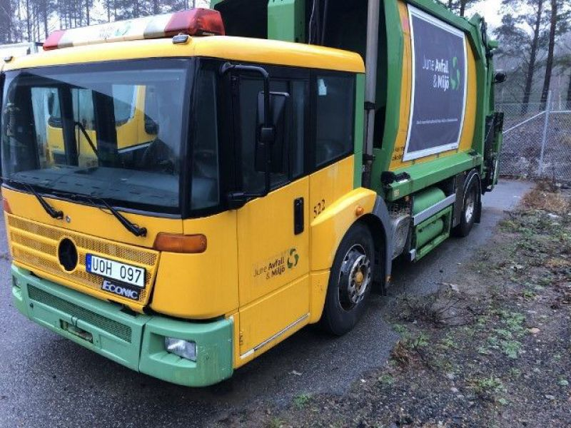 Mercedes- Benz1828GLL Sopbil/Garbage truck - 2