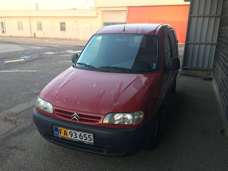 Citroen Berlingo 1,9D Van - 1