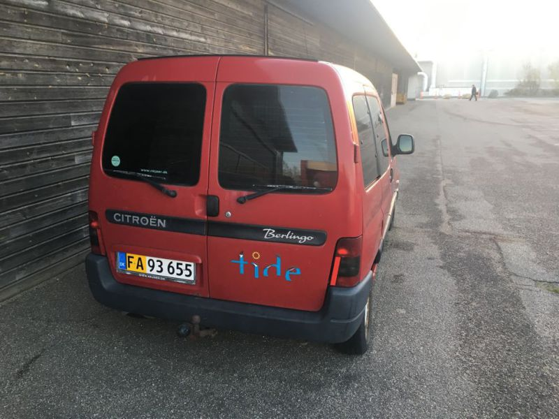 Citroen Berlingo 1,9D Van - 5