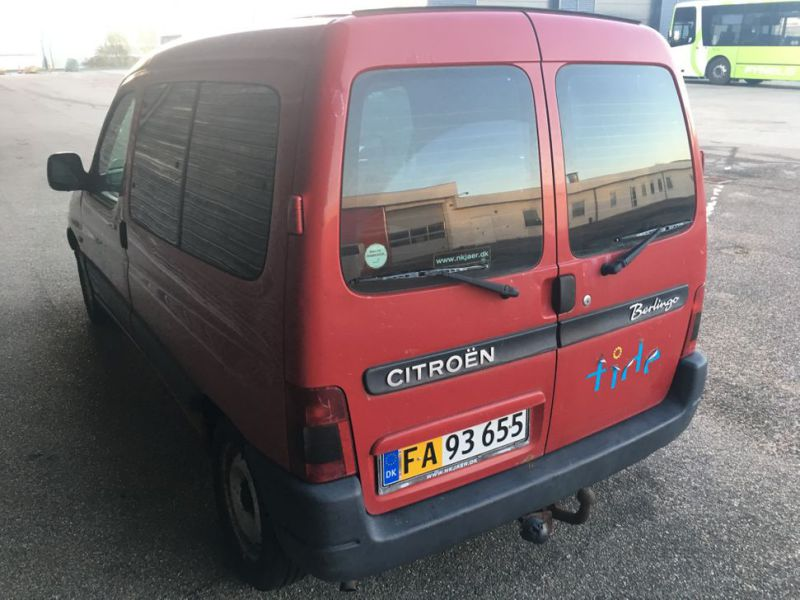 Citroen Berlingo 1,9D Van - 6