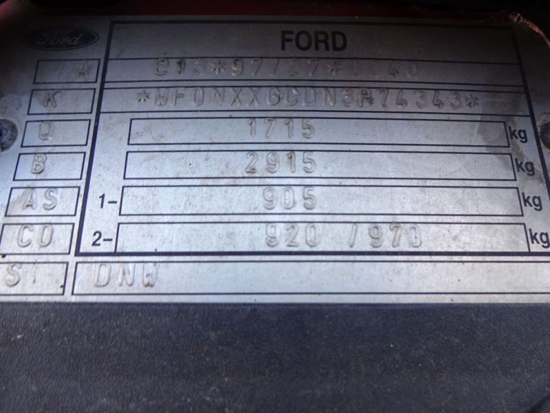 Ford Focus 2,0 St. Car. - 21