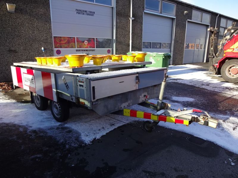 Trailer skiltevogn / Road signal trailer - 2