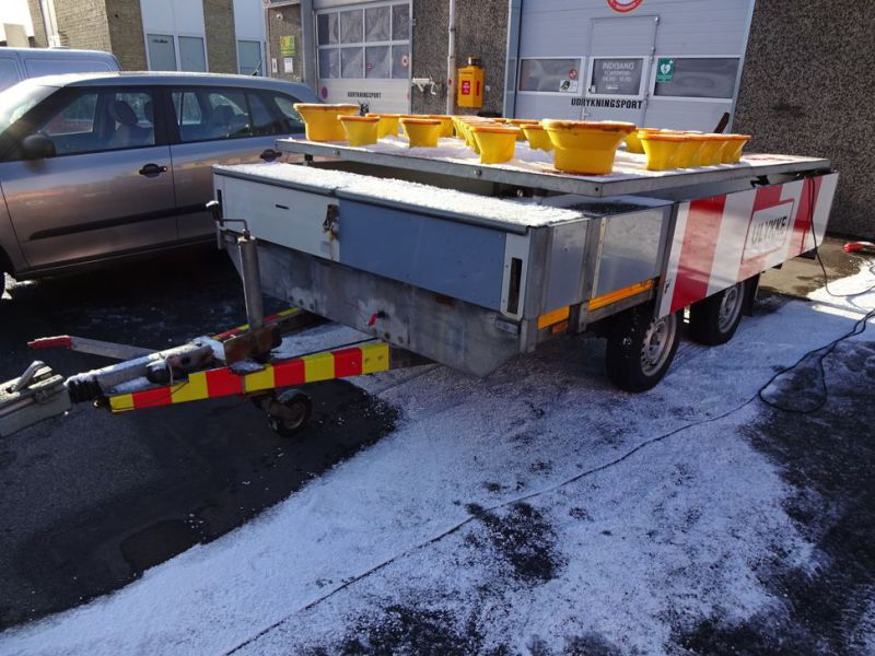 Trailer skiltevogn / Road signal trailer - 3