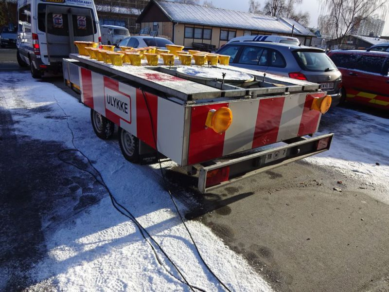 Trailer skiltevogn / Road signal trailer - 5