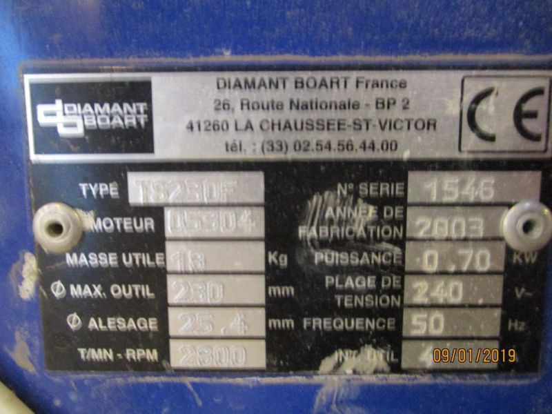 Fliseskærer Diamant Boart TS 230 F Bord model / Tile cutter - 5