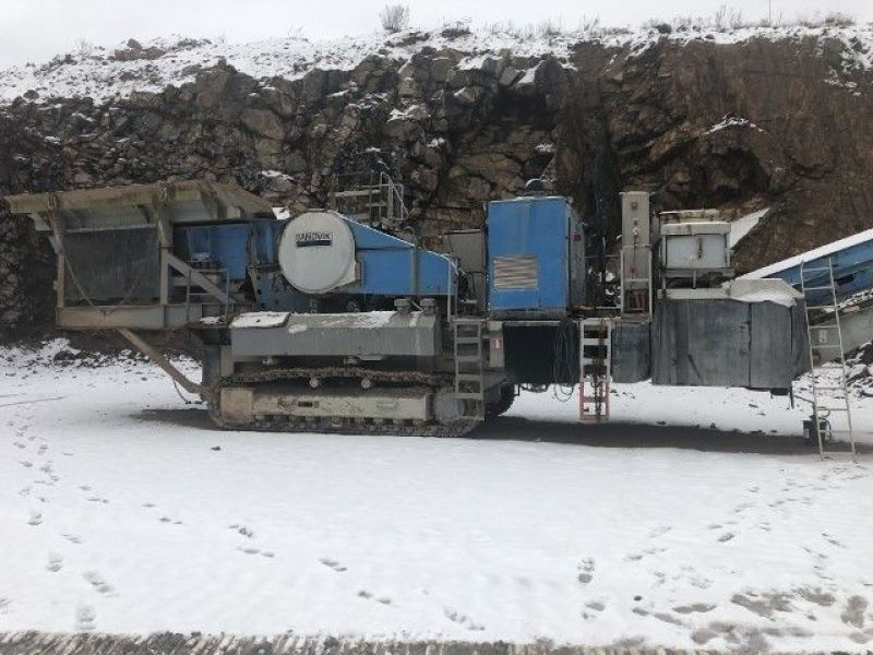 Sandvik CM1208 F Förkross/Mobile crusher - 1