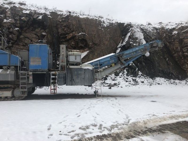 Sandvik CM1208 F Förkross/Mobile crusher - 2
