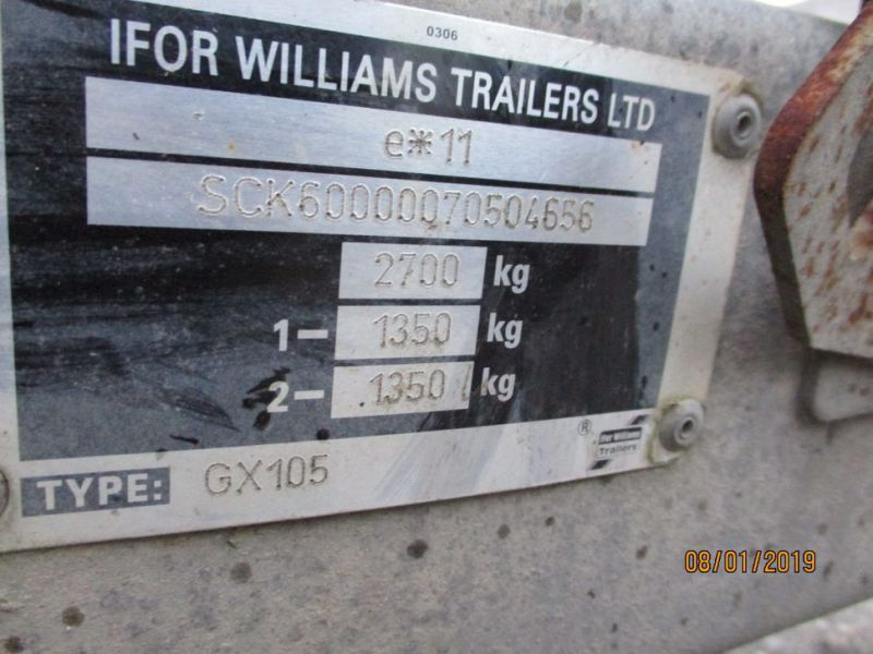 Trailer Williams 2700 kg  - 23