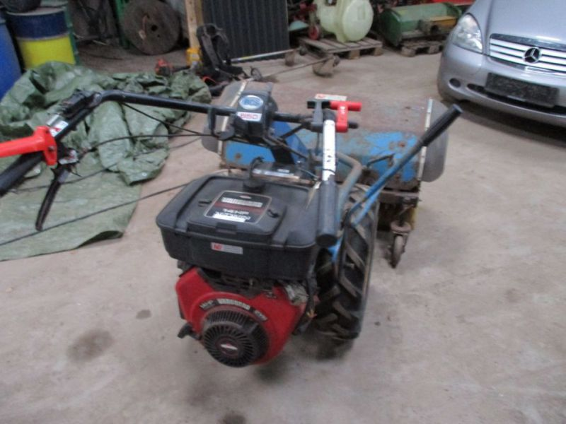 BCS 650 2 hjulet traktor med kost / 2 wheel tractor with sweeper - 2