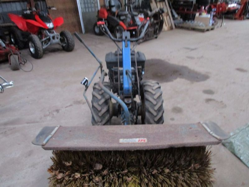 BCS 650 2 hjulet traktor med kost / 2 wheel tractor with sweeper - 8