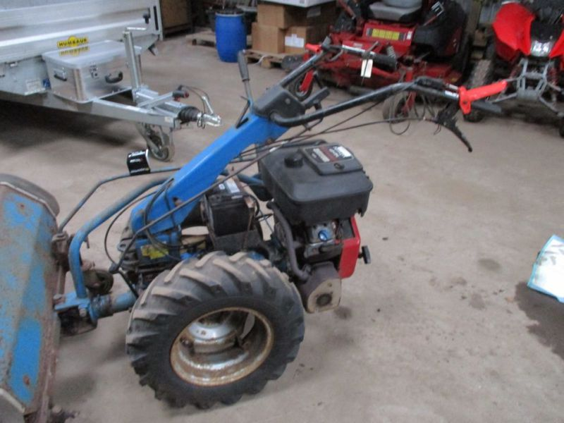 BCS 650 2 hjulet traktor med kost / 2 wheel tractor with sweeper - 9