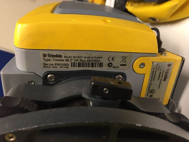 "Totalstation / Total Station Trimble S6 2"" DR PLUS  - 6"