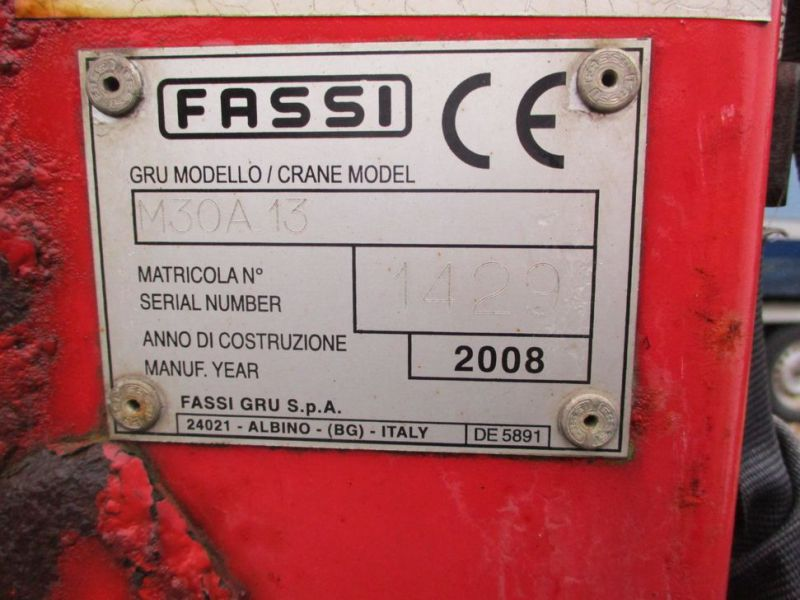 IVECO DAILY 35S 18 med Fassi M30A13 kran / IVECO DAILY with crane - 4
