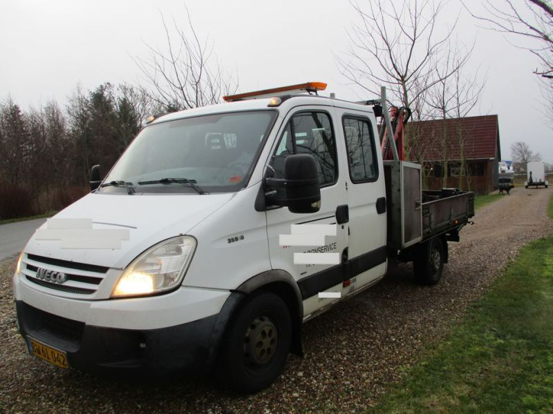 IVECO DAILY 35S 18 med Fassi M30A13 kran / IVECO DAILY with crane - 39
