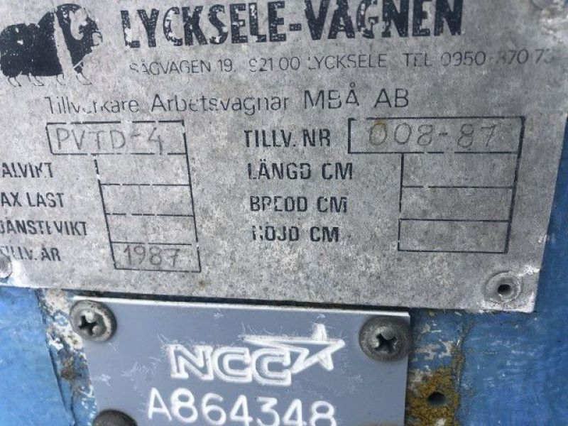 Lycksele-Vagnen Personalvagn/staff trolley - 18
