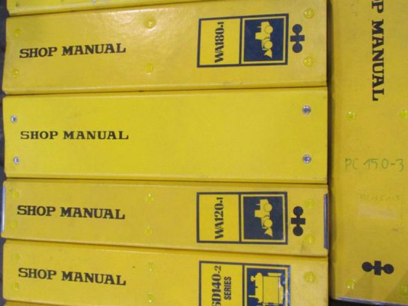 Brugermanualer og reservebøger / User manuals and spare parts books - 11
