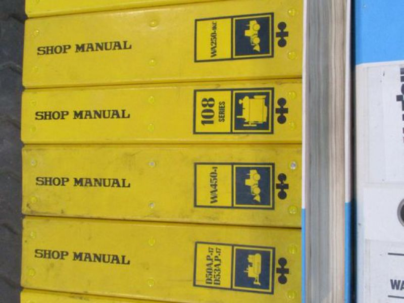 Brugermanualer og reservebøger / User manuals and spare parts books - 12