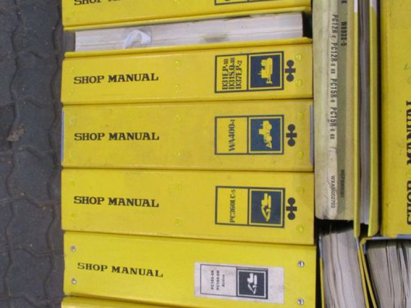 Brugermanualer og reservebøger / User manuals and spare parts books - 13