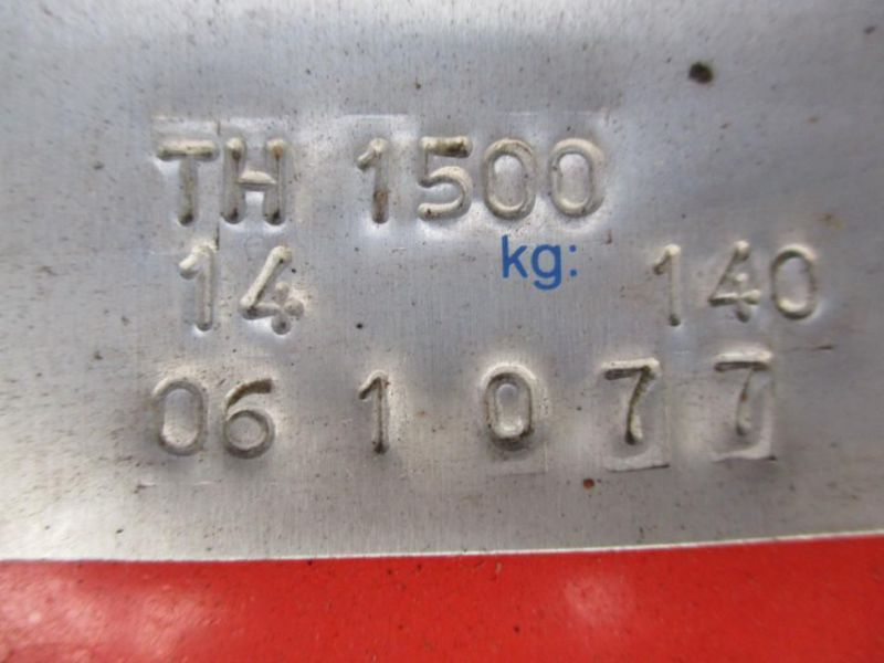 Stensballe TH1500 klippe hoved / Mower head - 9