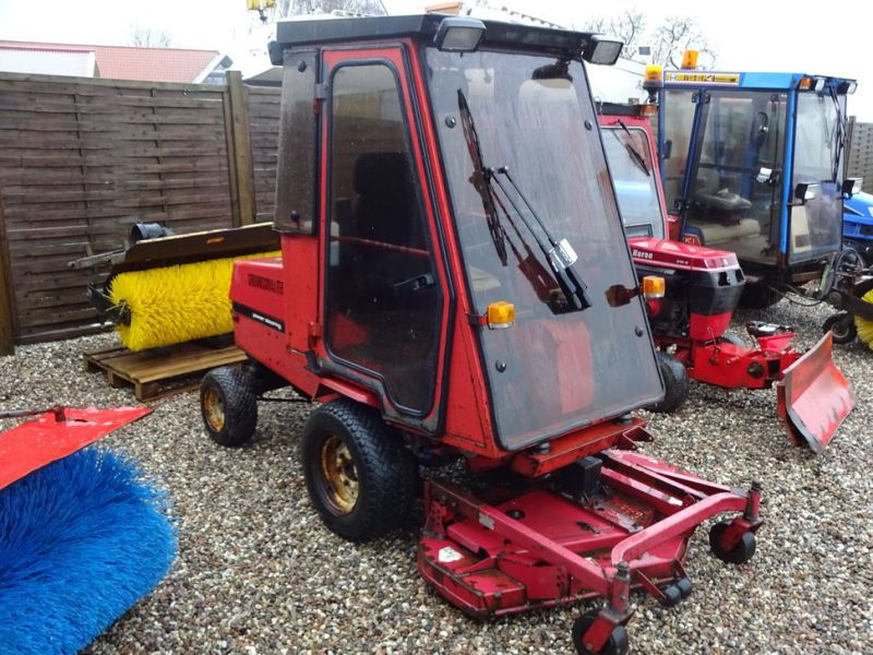 Toro Groundmaster 220 Diesel med kost og klipper / with sweeper and cutter - 14