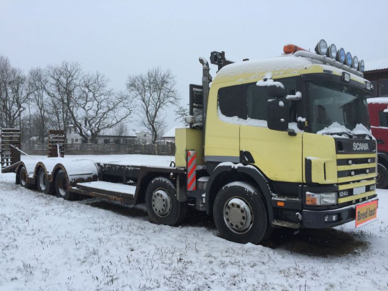 Heavyweight trailer SCANIA P124G 10x4 400hp - 13