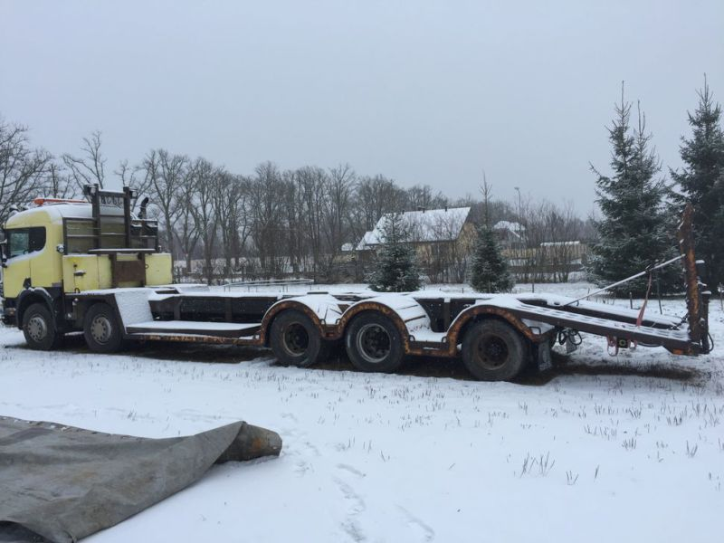 Heavyweight trailer SCANIA P124G 10x4 400hp - 15