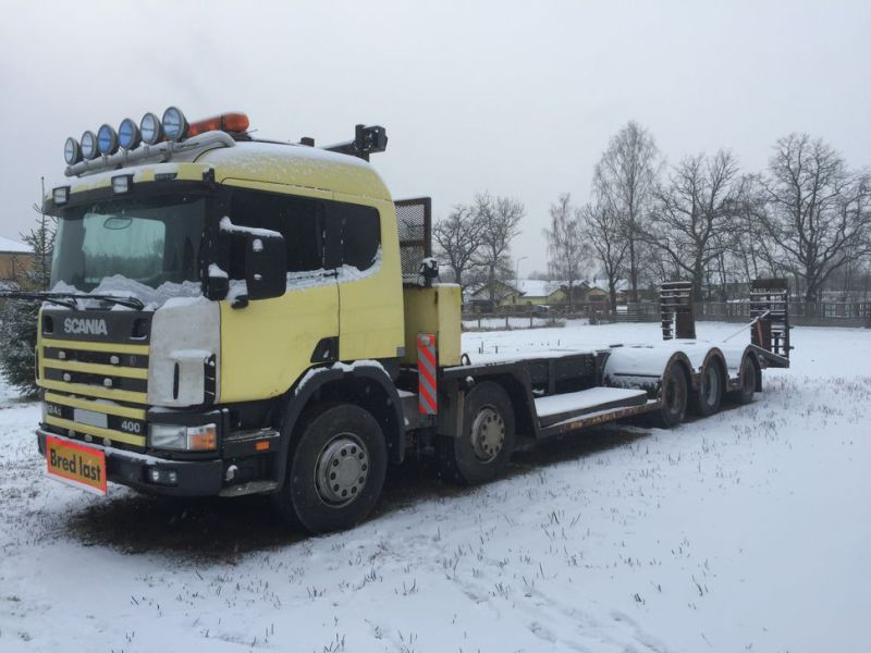 Heavyweight trailer SCANIA P124G 10x4 400hp - 18