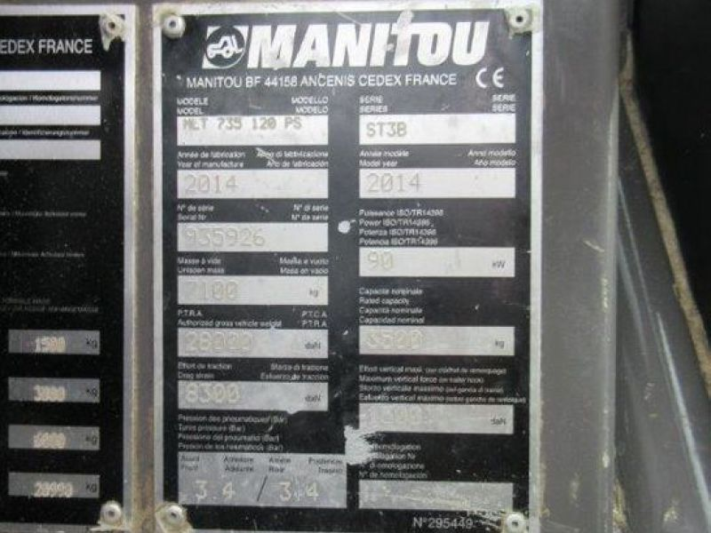 Manitou MLT 735-120PS/ Telescopic loader - 5
