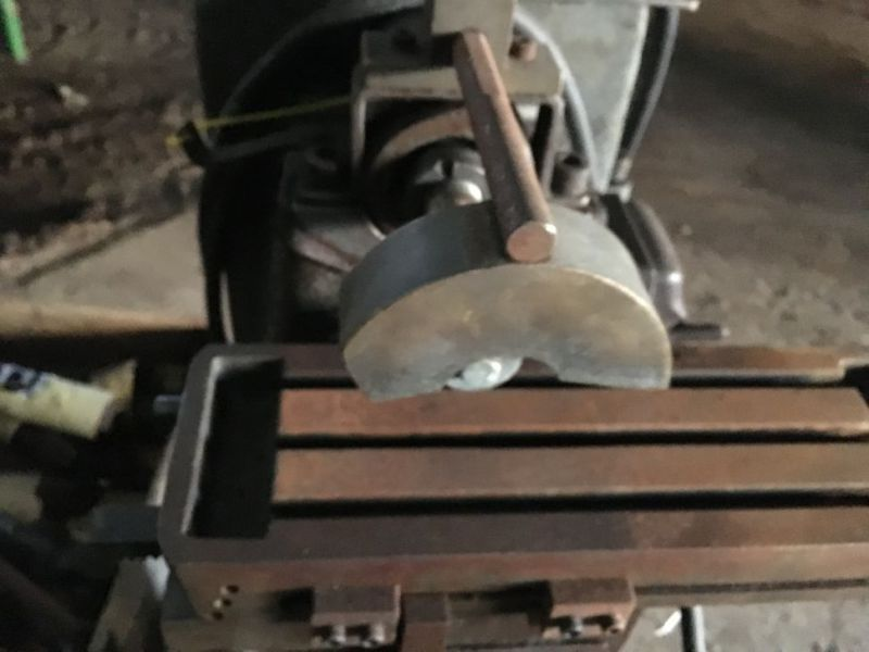Metalfræser / metal milling machine - 6