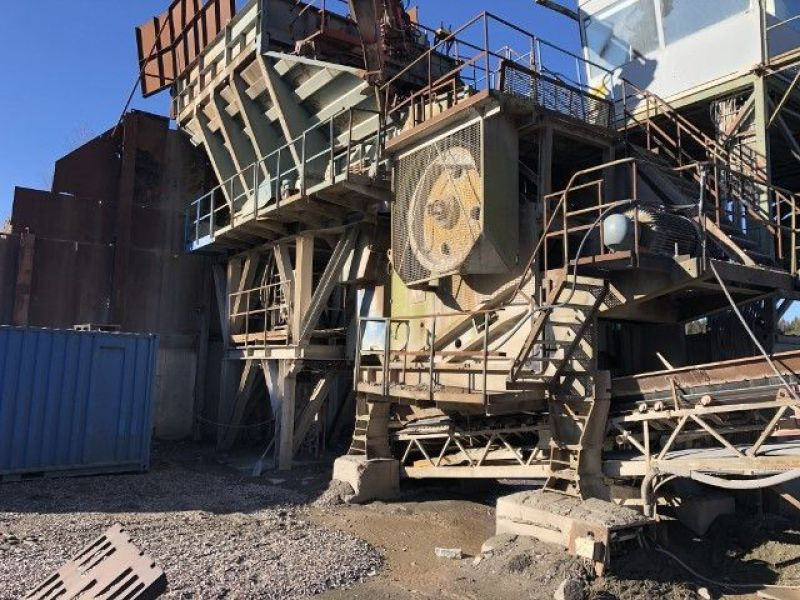 Arbrå Svedala Käftkross / Jaw Crusher med matarstation och Vibrationsmatare/with feeding station and Vibration feeder - 1