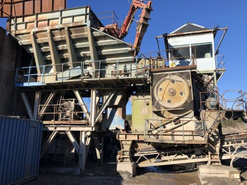 Arbrå Svedala Käftkross / Jaw Crusher med matarstation och Vibrationsmatare/with feeding station and Vibration feeder - 2