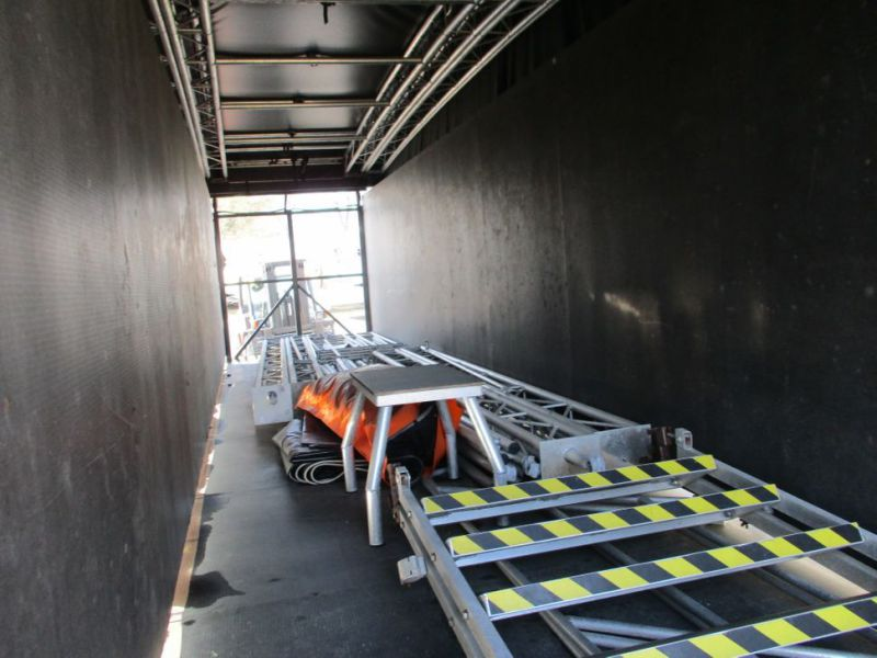 Mobil scene 10 m  fuld udstyret / Mobile scene 10 m full equipment. - 34