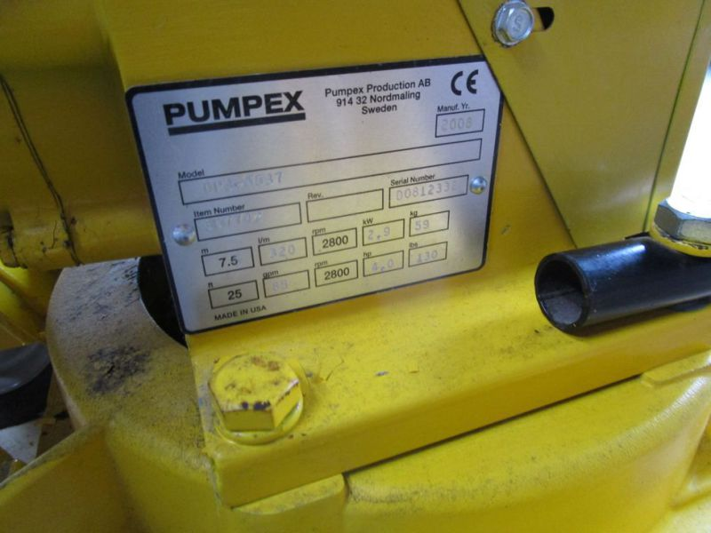 Ny Pumpex DP3 med benzin motor / New Pumpex DP3 with gasoline engine. - 6