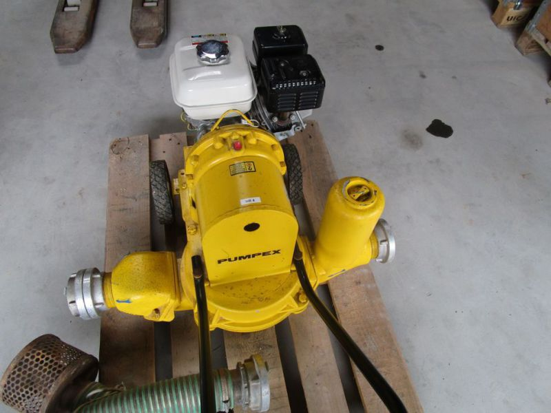 Pumpex DP3 med benzin motor / New Pumpex DP3 with gasoline engine. - 2