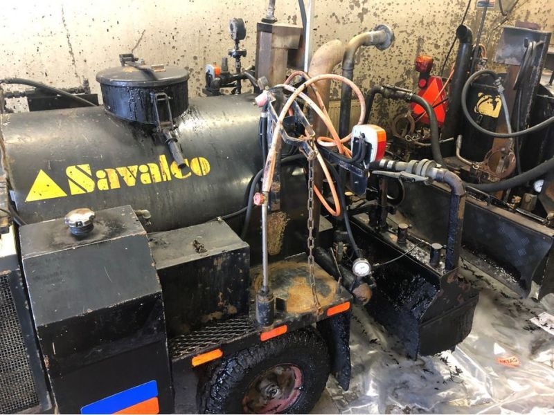Savalco MINI 500D Klistermoped/Emulsion Sprayer  - 7