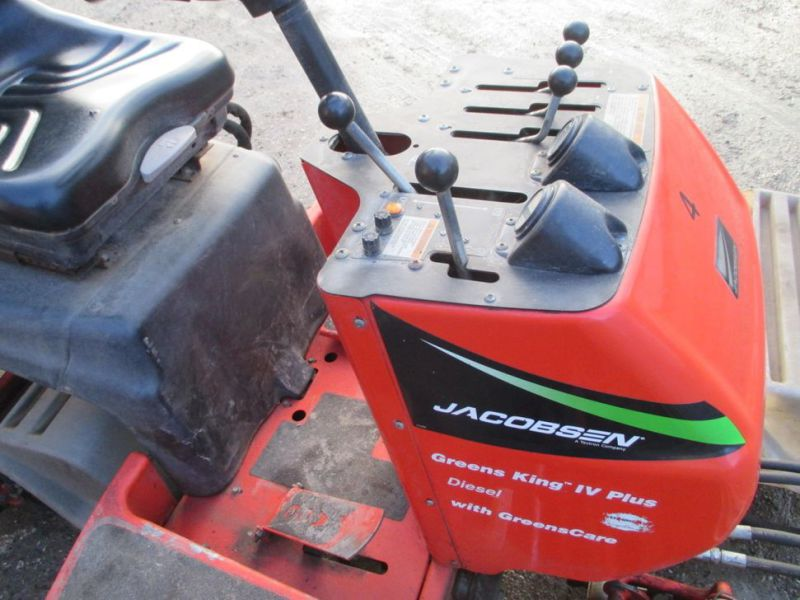 Cylinderklipper Jacobsen Green King Diesel IV Plus 3 leds / 3 joint Reel mower - 22