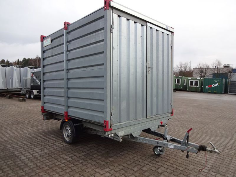 Lukket trailer / closed trailer - 0